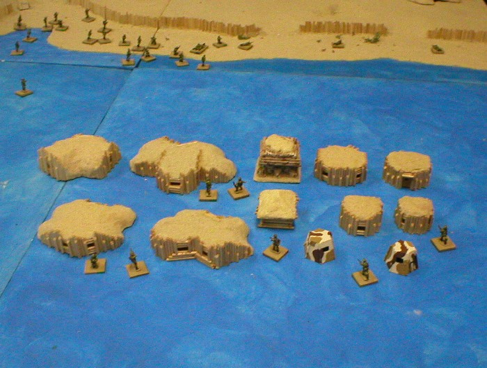 Japanese Bunkers Set 1