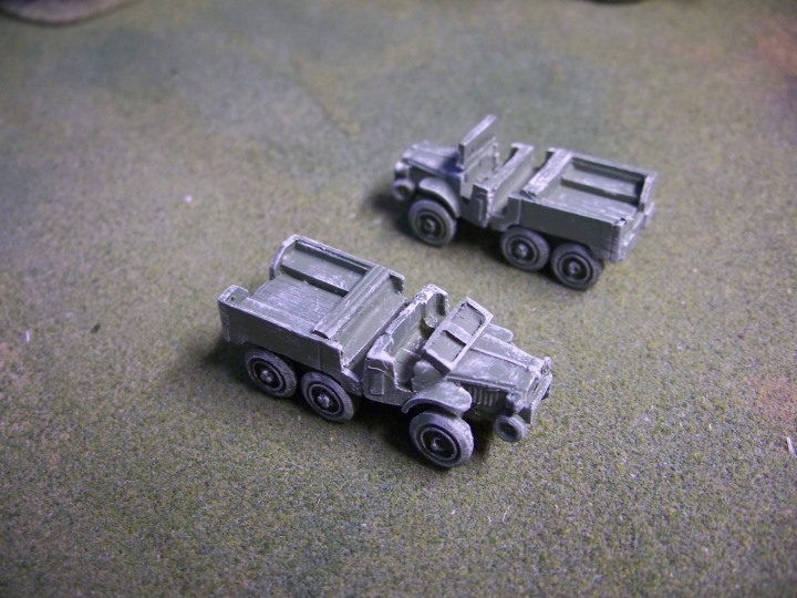 French Laffly Personnel Carrier S20TL Truck