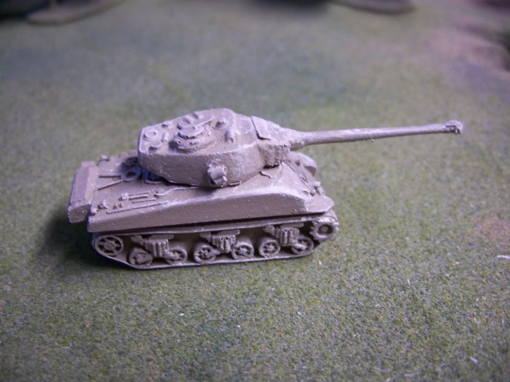 M50 Mk I Super Sherman on VVSS